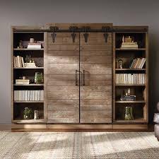 barn doors sliding barn door bookcase