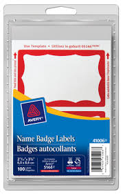 Avery 5395 Name Badges Amazon Com Avery Premium Personalized Name Tags Print Or Write 2