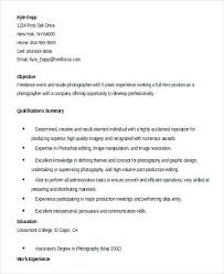 Junior Photographer Resume – Lespa