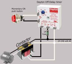 how to wire dayton off delay timer dayton off delay timer applies to 24 to 240 volt circuits