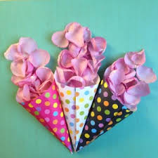 How To Make Paper Cones For Flower Petals How To Make Paper Cones Pretty Up
