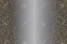 Gouden Glitter Poeder Textuur Geïsoleerd Op Een Transparante