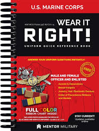 Wear It Right Usmc Uniform Quick Reference Book