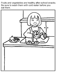 Print colouring pages to read, colour and practise your english. Healthy Food Coloring Pages For Kids Coloring Home
