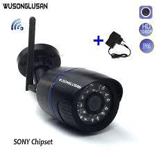 Wifi IP Camera CamHi Wireless Outdoor <b>1080P</b> SONY IMX323+ ...