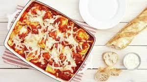 easy ravioli bake recipe bettycrocker com