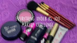 budget makeup challenge