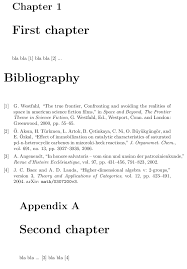 Bibliographies References Before Appendix Tex Latex Stack Exchange