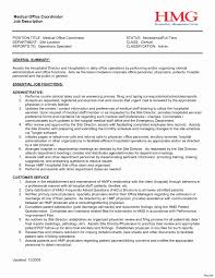 Assistant Manager Skills Resume Unique Project Administrator Job