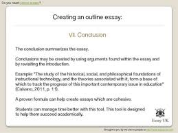 custom essays creating an outline essay