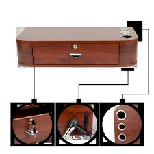 wall mount 1 drawer hair salon stylist barber furniture locking inside size 1001 x 1001