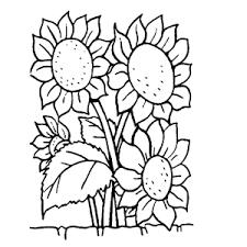 Kleurplaat Met Engelen En Zonnebloemen