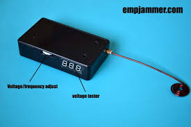 Emp Jammer Vending Machine Mesmerizing Hack Slot Machines With EMP Jammer With Voltage Tester No48s EMP