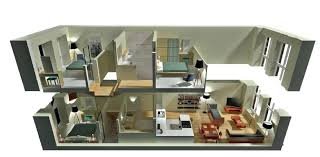 house floor plans 3d novic me