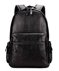 kenox vintage leather backpack computer