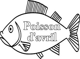 Coloriage Poisson D Avril Dessin Imprimer Sur Coloriages Info