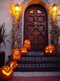 Let your imagination go wild with halloween front door ideas, and let us  surprise your guests with something a little creepy, good luck!