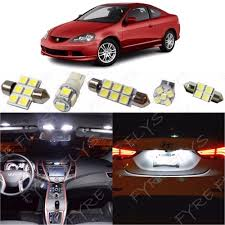 2002 2006 Acura Rsx Led Interior Light Kit 5050 Series