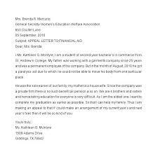 Sample Dismissal Letter Sample Appeal Letter Academic Dismissal Template Summary Uk