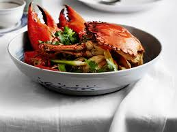 Recipe of Sauteed Mud Crab with Ginger ...