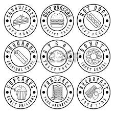 47932328 set of vintage labels of food?ver=6 logo sandwich images & stock pictures royalty free logo sandwich on sandwich label template