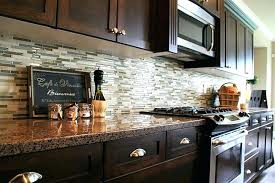 kitchen tile backsplash ideas ceramic home for wall patterns installing with cherry cabinets