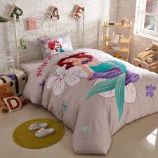 details about new little mermaid bedding set cartoon girls disney duvet cover comforter