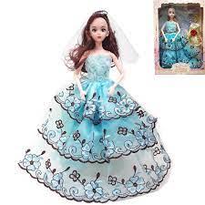 Hộp đồ chơi Búp bê barbie khớp Cô dâu, công chúa kèm phụ kiện búp bê cho bé  (giao mẫu ngẫu nhiên) | Shop Bé Trẻ Thơ