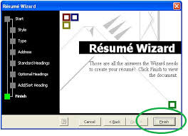 Smart Resume Wizard Magnificent Laptop Lab How To Make A Resume Stepbystep With Microsoft Word