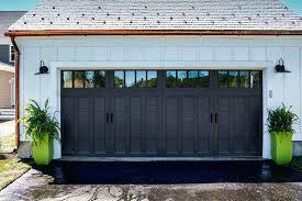 painting garage doors color garage door paint system painting garage doors black