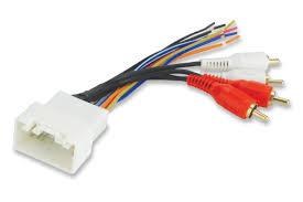 cheap scosche radio wiring harness scosche radio wiring scosche radio wiring harness for 2000 up toyota amplifier interface harness only