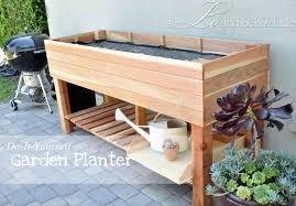 diy planter box ideas that anyone can build