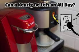 If it emits a 'beep' sound, restart your cleaning or brewing cycle. Can A Keurig Be Left On All Day What You Need To Know