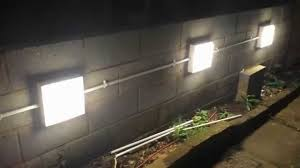 home wall lighting. Installing Garden Wall Lights Home Lighting