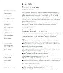 Product Manager Resume Samples Unique Sample Product Marketing Manager Resume Manager Resume Sample