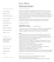 Marketing Manager Resume Samples Best Sample Product Marketing Manager Resume Sample Product Manager