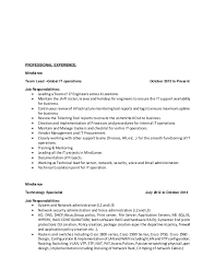 Ad Operations Resume