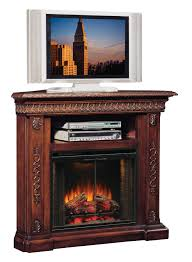 san marco walnut corner unit electric fireplace 28 inch