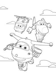 Disegni Super Wings Da Colorare