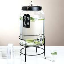 rustic glass lemonade dispenser c5292 3 gallon style setter glass beverage dispenser with metal stand glass latest glass lemonade dispenser