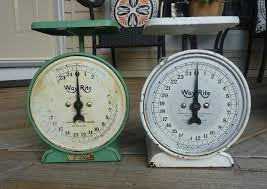 Small Picture My Crafty Days Vintage Kitchen Scales