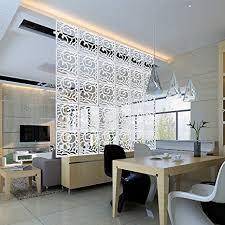 diy office partitions. Kernorv DIY Room Divider Partitions Separator Hanging Decorative Panel Screens, 12 PCS Diy Office U