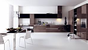 White Modern Kitchen White Modern Kitchen Ideas With Wooden Floor And Cabinet Kitchen