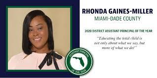 "Florida Department of Education on Twitter: ""Rhonda Gaines-Miller ..."