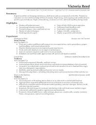 Cocktail Server Resume Sample Magnificent Good Resume For Cocktail Waitress Sample Waiter Resume Waitress