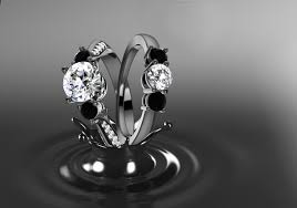 there are several ways to create black gold but fine jewelry industry standards involve rhodium plating this highly reflective black rhodium plating is