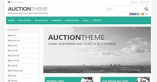 Auction Website Template Awesome 24 Best WordPress Auction Themes Plugins 24