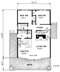 a frame cabin contemporary house plan 43072 level one
