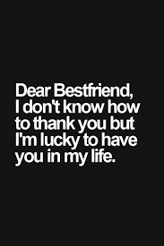 Quotes About Male Friendship I'm lucky friend Tap to see more inspiring friendship quotes 9