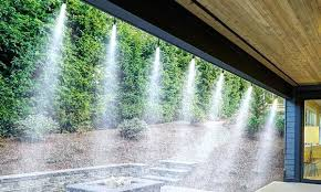 patio water misters cooling outdoor